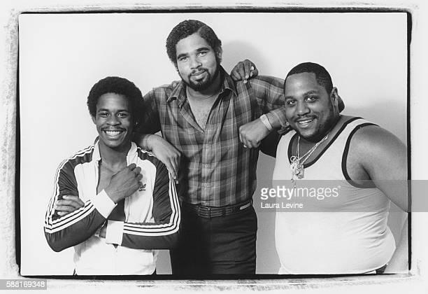 The Sugarhill Gang Master Gee Wonder Mike Big Bank Hank at Sugarhill Record office
