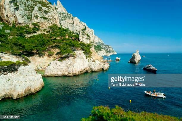 The Sugiton calanque, Marseille, Bouches du Rhone, France
