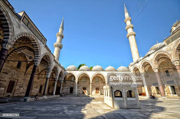 The Suleymaniye Mosque in Istanbul, Turkey