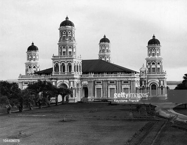 The sultan's mosque at Johore Bahru the capital of Johore in the Malay Peninsula Johora is called the oriental Monte Carlo It is famous as an...