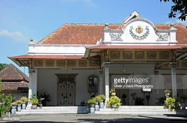 the sultan's palace (kraton), yogyakarta, java - yogyakarta stock photos and pictures