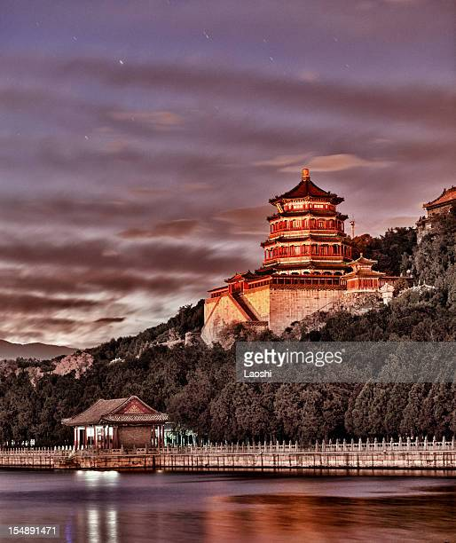 The summer palace of emperors in Beijing China