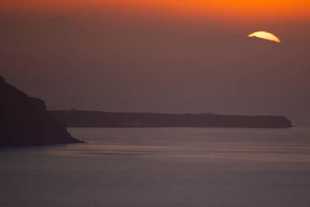 GRC: Sunset In Santorini Island In Greece