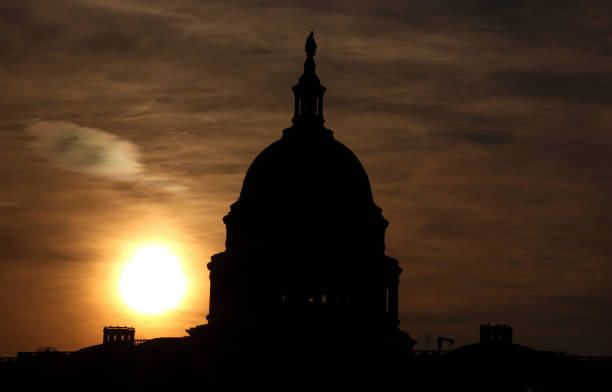 DC: Lawmakers Work To Finalize Infrastructure Bill On Capitol Hill