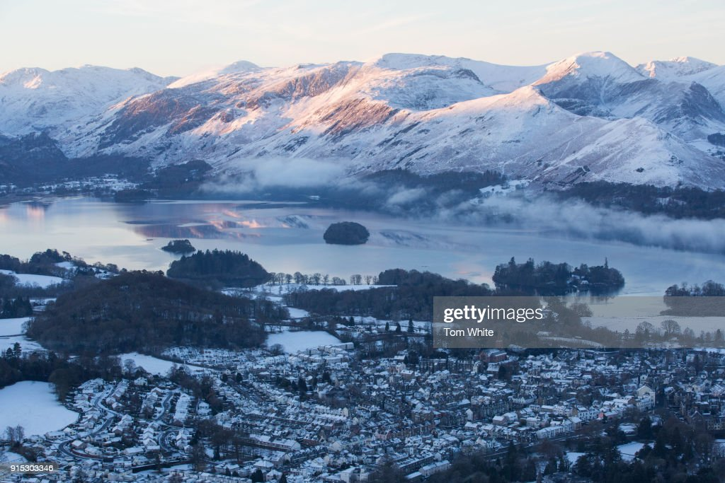 Cold Snap Continues Across The UK : Foto jornalística