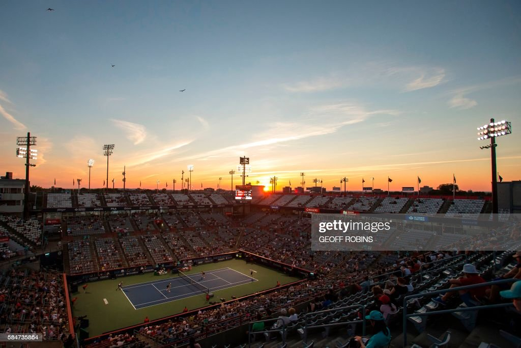 TOPSHOT-TENNIS-CAN-ROGERSCUP : News Photo
