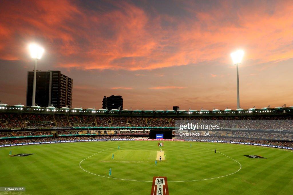 BBL - Brisbane Heat v Sydney Thunder : News Photo