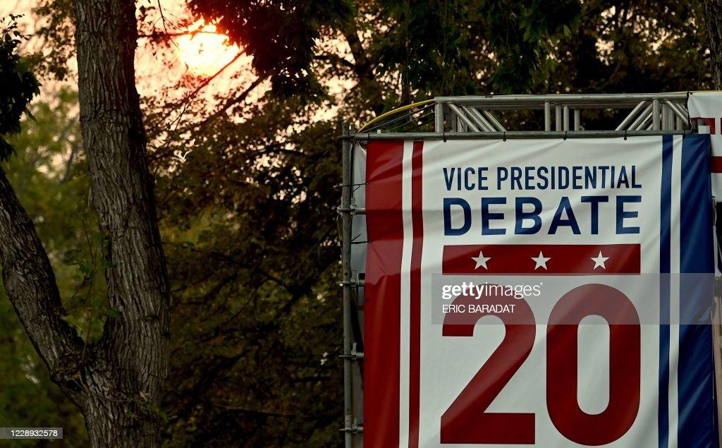 US-VOTE-DEBATE-VP : News Photo