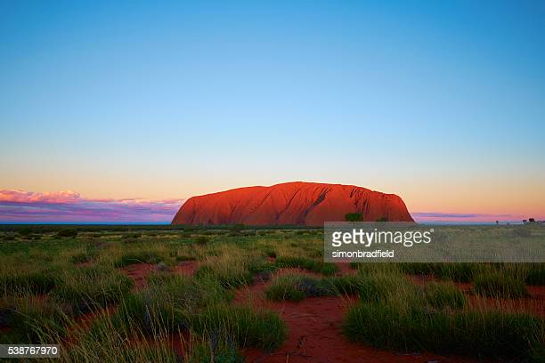 The Sun Sets On Uluru