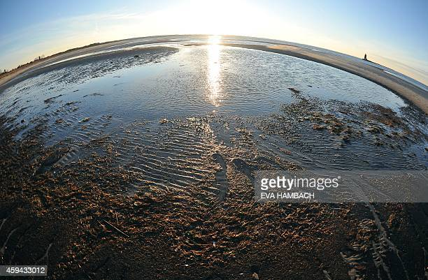 The sun sets over Cape Henlopen in Lewes Delaware November 22 2014 Cape Henlopen a former strategic location for the US Navy and Army during World...