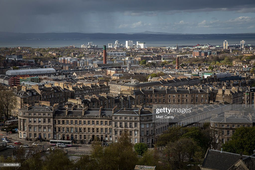 Views Of Edinburgh Ahead Of The Scottish Parliament Election : News Photo
