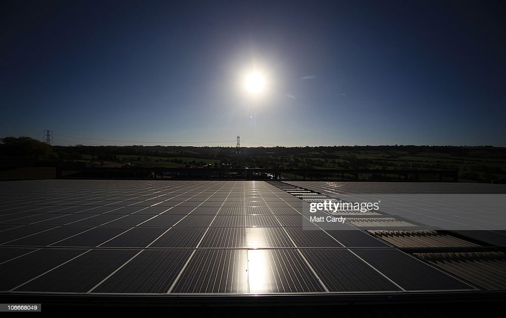 Worthy Farm To Install UK's Largest Private Solar Panel System : News Photo
