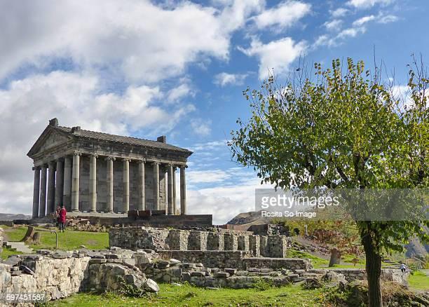 The sun temple of Garni, Armenia