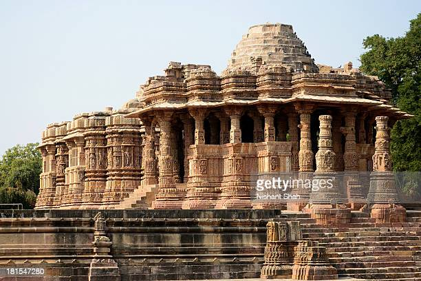 the sun temple of modhera - ahmedabad stock pictures, royalty-free photos & images