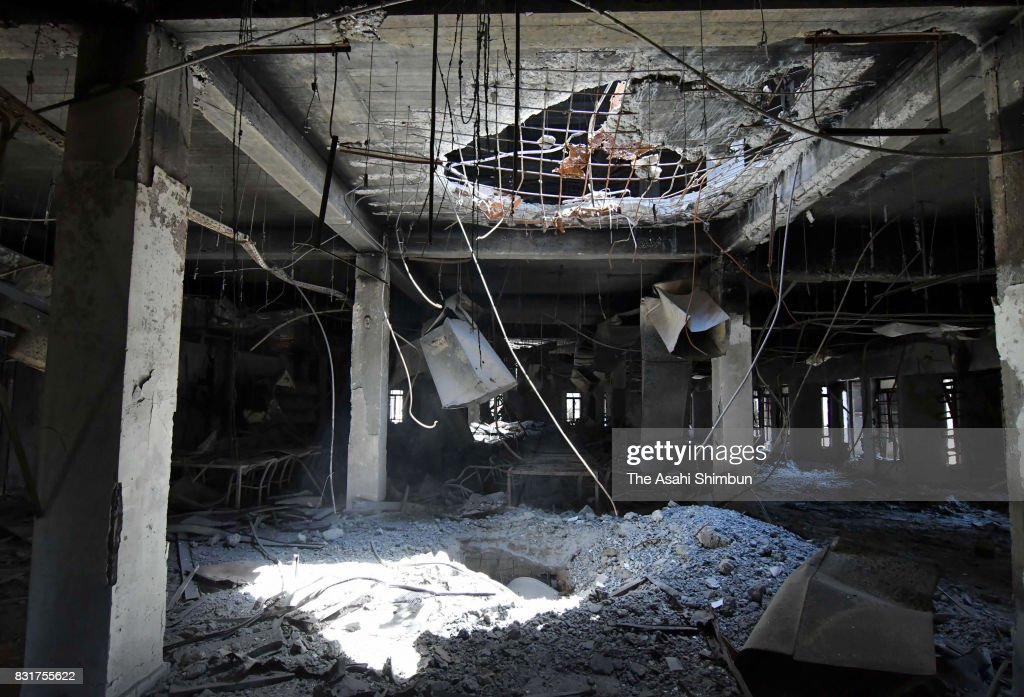 A Month After Mosul Liberated From Islamic States : ニュース写真