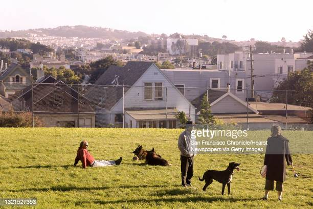 The Sunnyside Playground will be the subject of a city hearing to determine it it can be transformed into an off-leash park on April 13. Shot on...