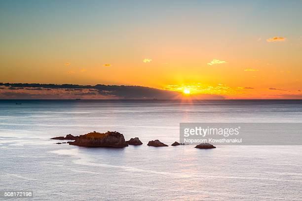 The sunrise of Kinomatsushima