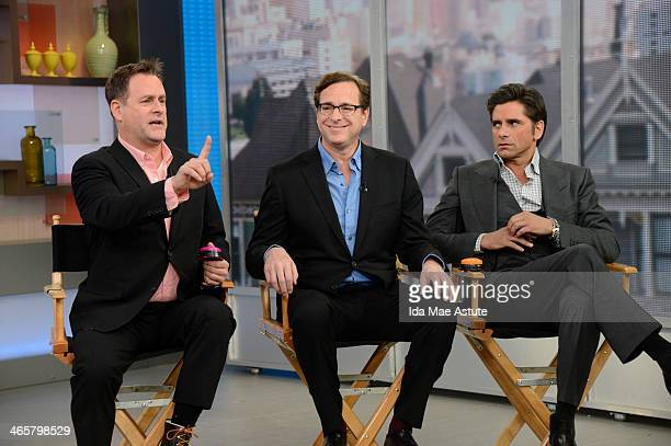 AMERICA The Super Bowl Boulevard Blowout festivities continue on GOOD MORNING AMERICA 1/29/14 airing on the ABC Television Network Giants QB Eli...