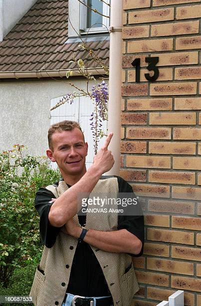 The Super Lotto Winners: Christophe, Winner Of 44.783.640 Francs. Combs-la-Ville - 3 mai 1996 - Portrait de Christophe, qui a gagné 44 783 640 francs...