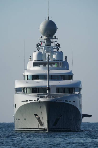 GBR: Saudi Arabian Prince's Yacht Visits Cornwall