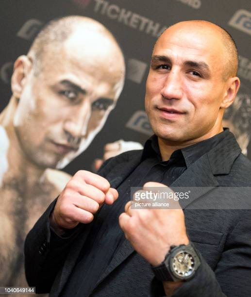 The SuperMiddleWeight Boxer Arthur Abraham after a press conference in Berlin Germany 01 June 2016 Abraham and Norwegian Lihaug will fight in the...