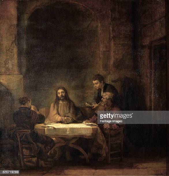 The Supper at Emmaus Found in the collection of Louvre Paris