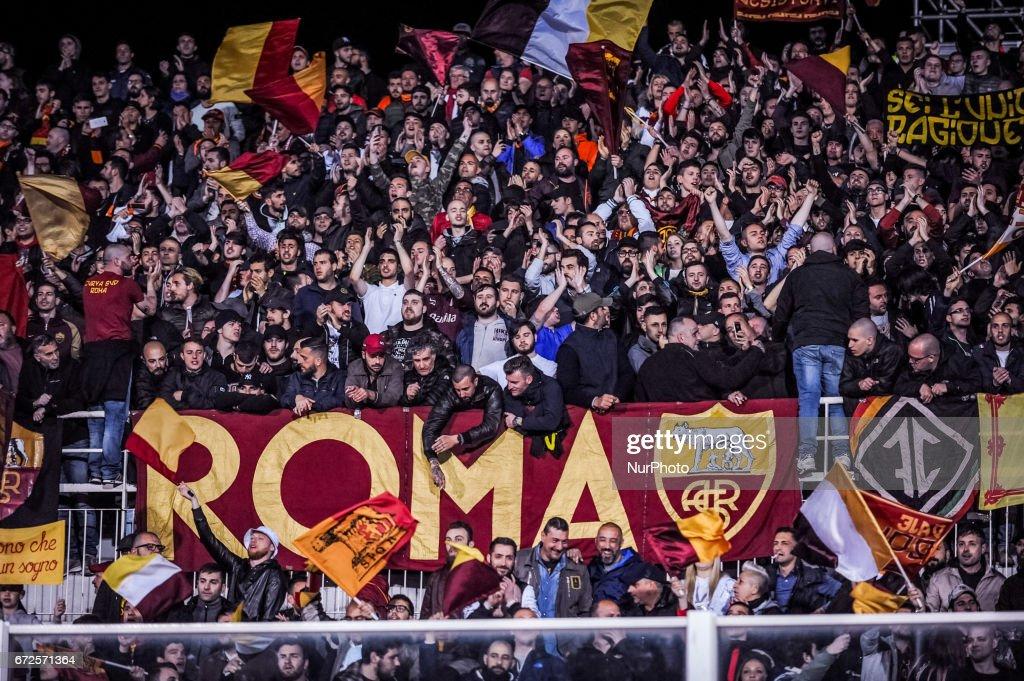 Pescara Calcio v AS Roma - Serie A : News Photo