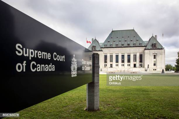 the supreme court of canada, ottawa, ontario - canada stock pictures, royalty-free photos & images
