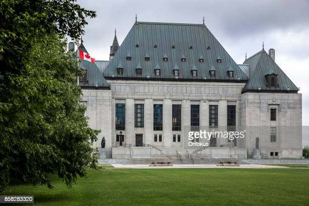 the supreme court of canada, ottawa, ontario - justice concept stock pictures, royalty-free photos & images
