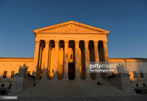 The Supreme Court of the United States of America The building a classical Corinthian architectural style was completed in 1935 with marble mined...