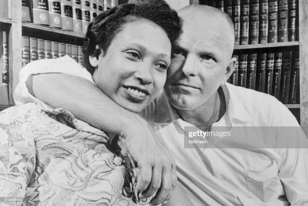 Richard and Mildred Loving in Washington, DC : News Photo