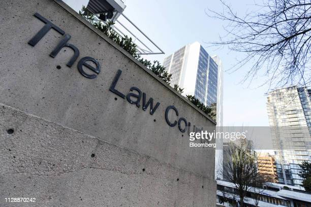 The Supreme Court stands following a hearing of Huawei Technologies Co Chief Financial Officer Meng Wanzhou in Vancouver British Columbia Canada on...