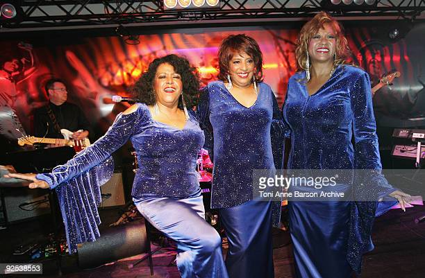 The Supremes attend the Black Legend opening party on October 29 2009 in MonteCarlo Monaco