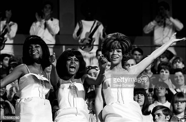 Mary Wilson Diana Ross and Florence Ballard circa 1965