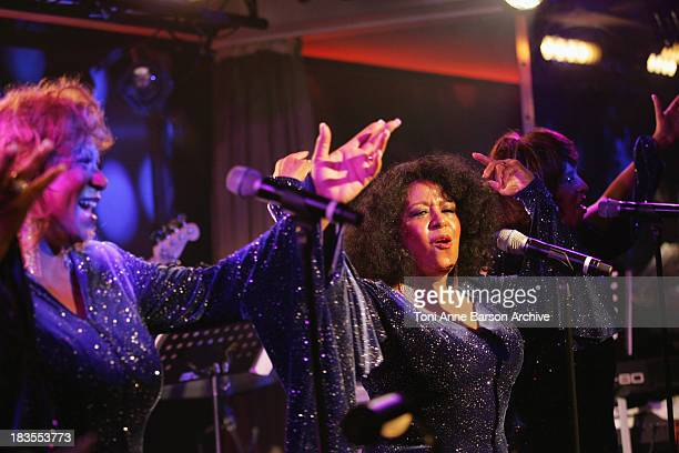 The Supremes perform at the Black Legend opening party on October 29 2009 in MonteCarlo Monaco