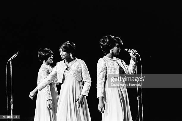 The Supremes performs at the Memorial Coliseum in November 1966 in Portland Oregon