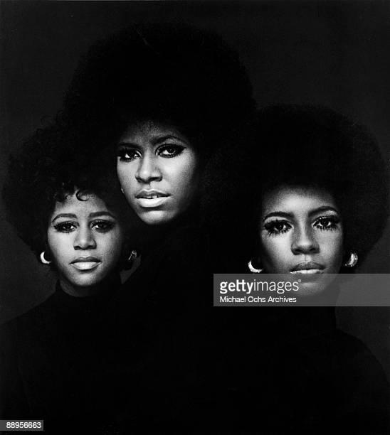 The Supremes pose for a portrait circa 1970