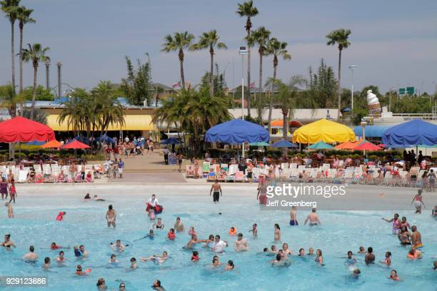 The Surf Lagoon at the Wet'n Wild water park