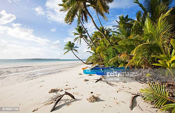 The Surf Shack beach, Cocos Keeling Islands, Western Australia, Australia, Indian Ocean