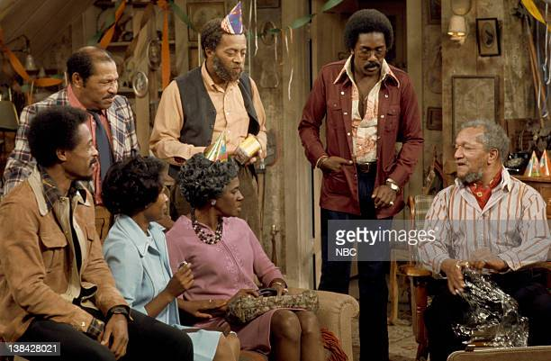 SON The Surprise Party Episode 1 Aired 9/13/74 Pictured Don Bexley as Bubba Bexley Whitman Mayo as Grady Wilson Demond Wilson as Lamont Sanford Redd...