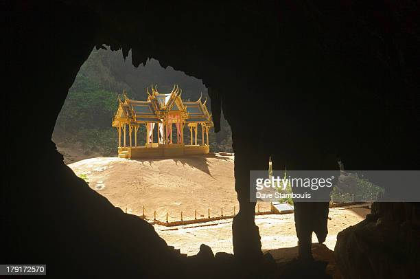 The surreal Phraya Nakhon Cave and throne pavilion in Khao Sam Roi Yot National Park in Thailand