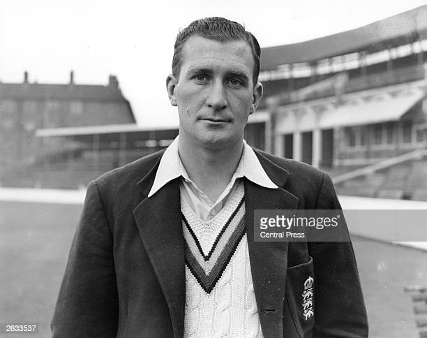 The Surrey County Cricket and English spin bowler Jim Laker