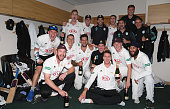 worcester england surrey squad celebrate changing