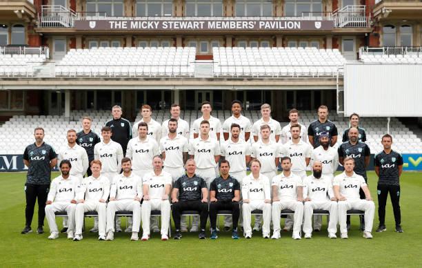GBR: Surrey CCC Team Photo & Training