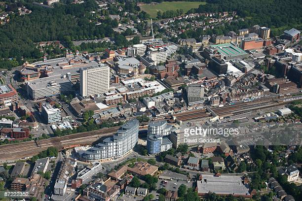 The Surrey town of Woking on 1st July 2006