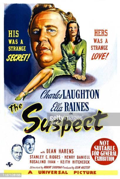 The Suspect poster Charles Laughton Ella Raines 1944