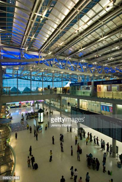 The Suvarnabhumi Airport Terminal
