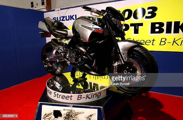 The Suzuki Bking Bike With A Gps Navigation System And Internet Access Built In At The