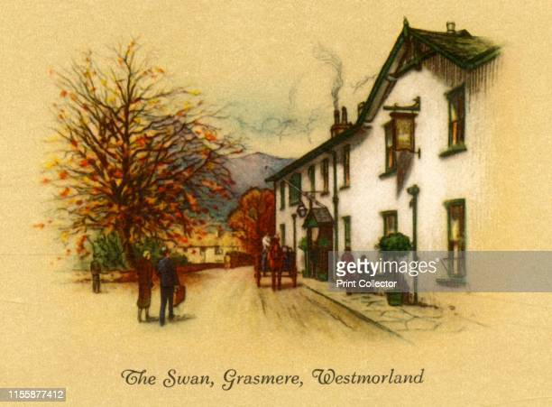 The Swan Grasmere Westmorland' 1939 Macdonald Swan Hotel former coaching inn built 1650s one of the oldest hotels in the Lake District mentioned in...
