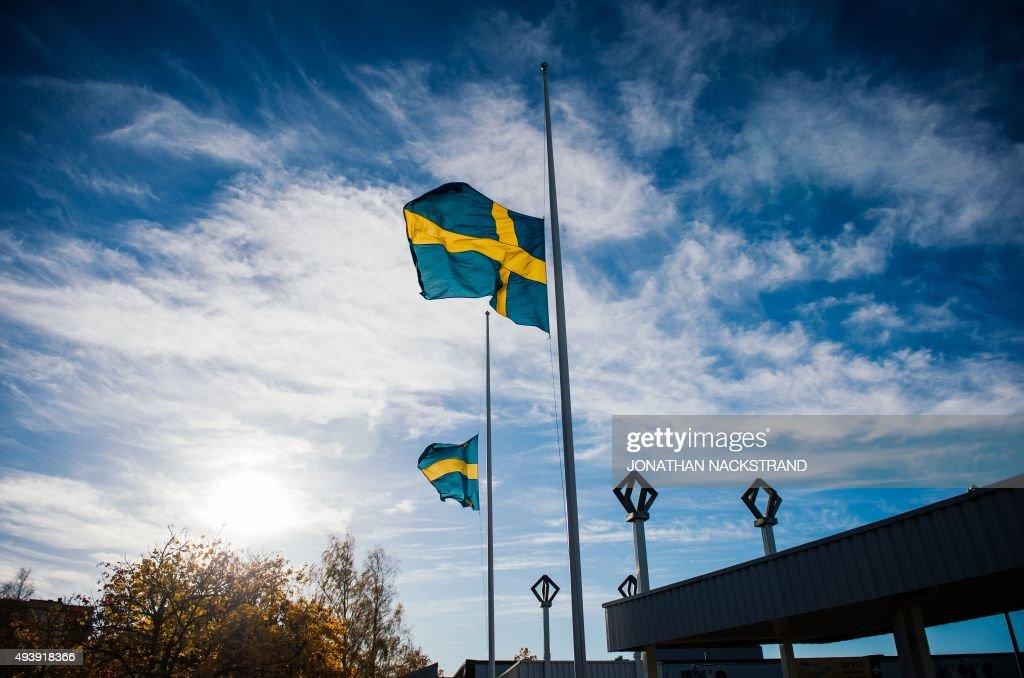 SWEDEN-ATTACK-SCHOOL : ニュース写真